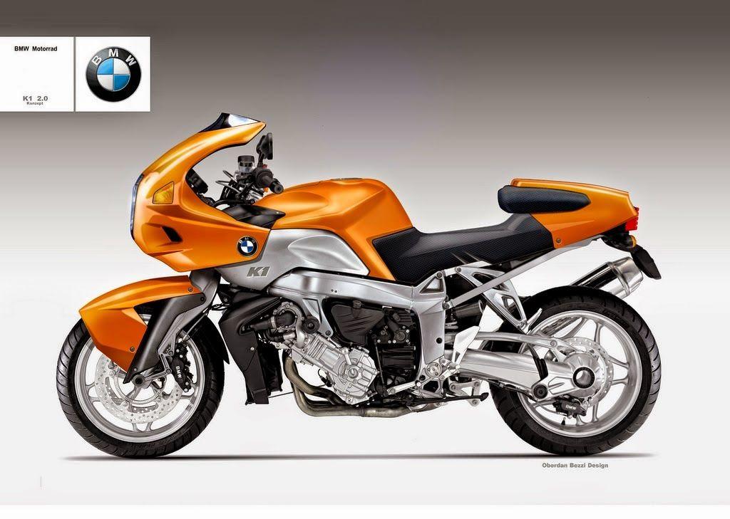 Design Corner - BMW K1 2.0 Konzept by Oberdan Bezzi