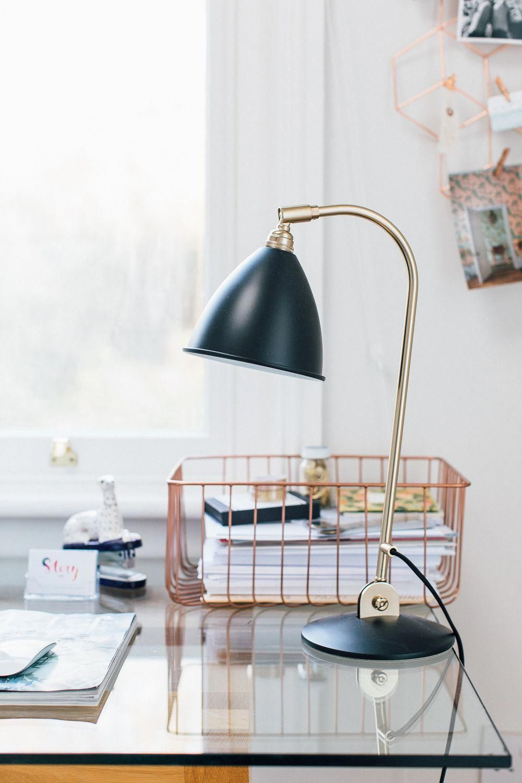 Black and gold desk lamp desklamps rustic lamps in