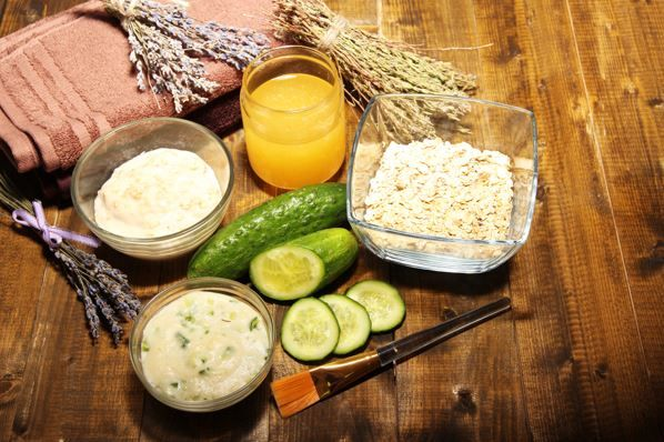 Healthy, homemade recipes to cure dry skin: http://thisladyblogs.com/cure-dry-skin-natural-ingredients/