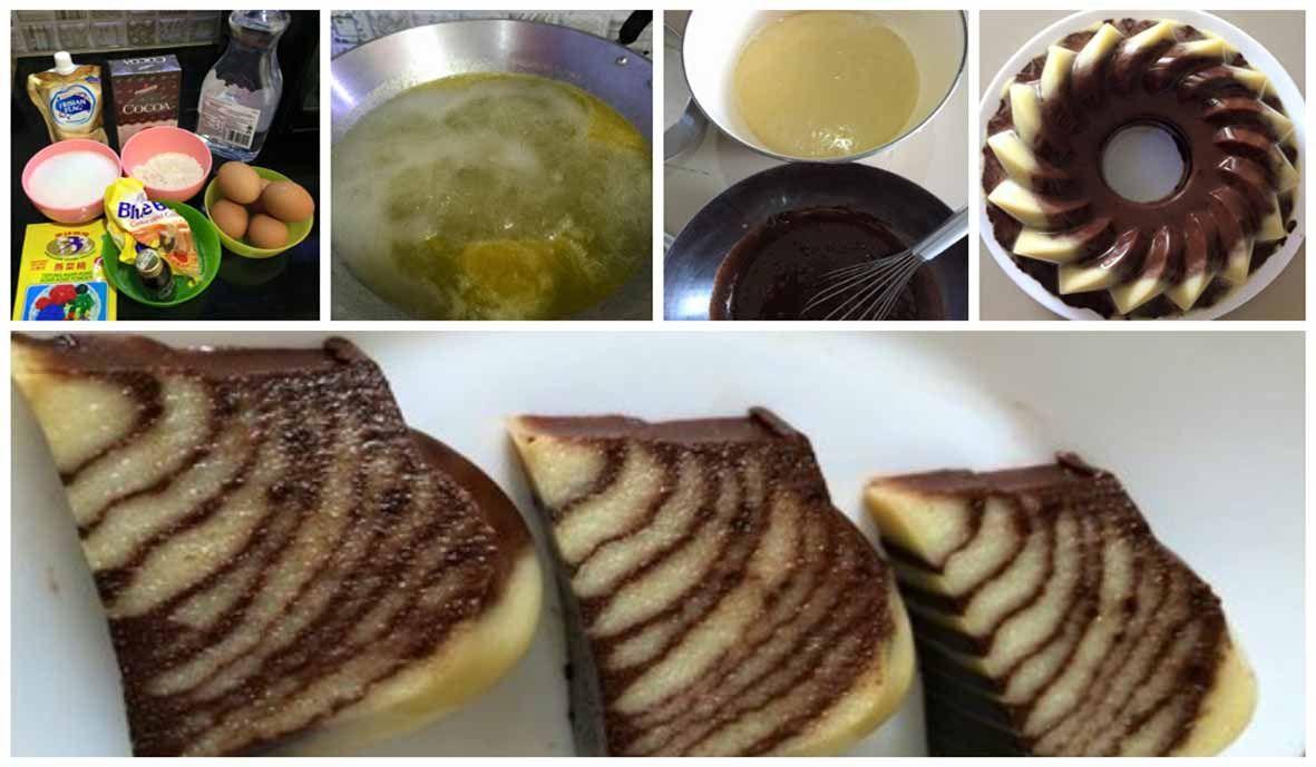 Resep Puding Zebra Cantik Manis Lembut Food Breakfast Pancakes