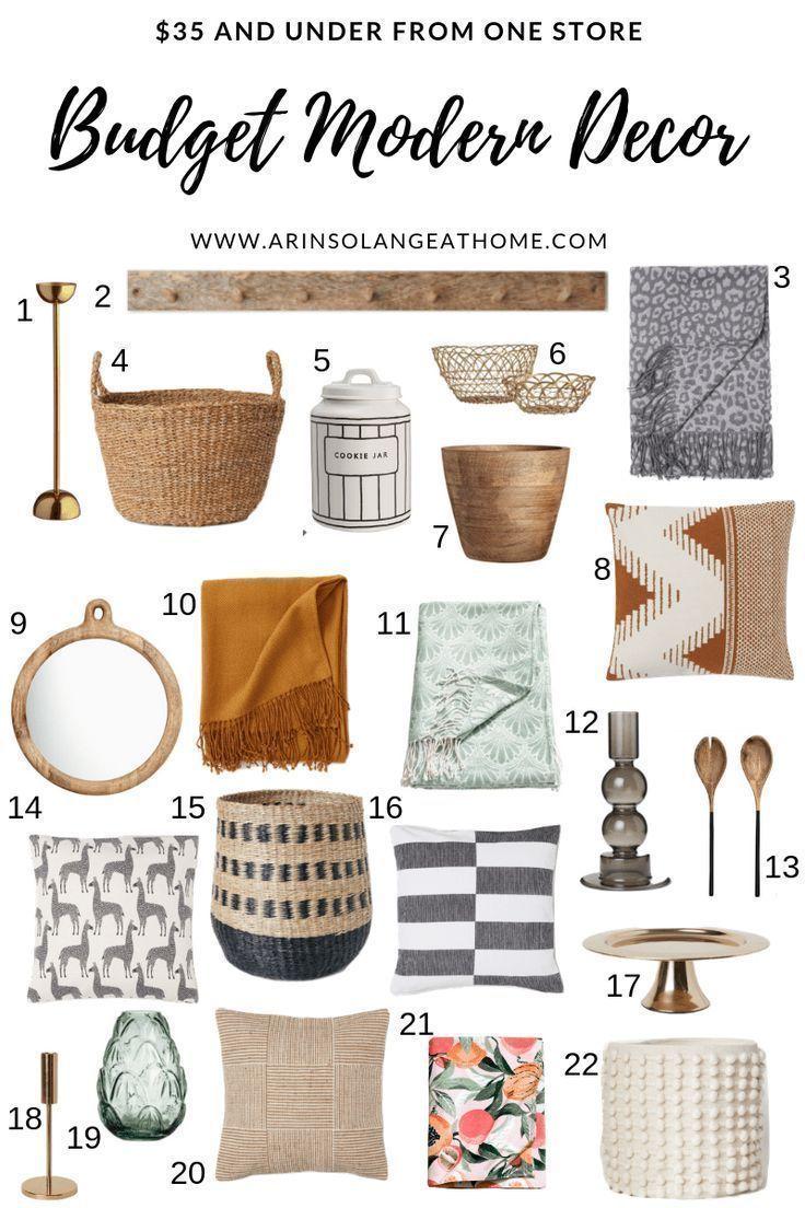 Photo of Budget Modern Home Decor – arinsolangeathome