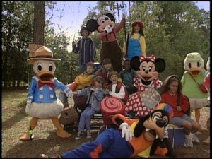 Sing Along Songs Campout At Walt Disney World Dvd Review Campout Mickey Mickey Mouse