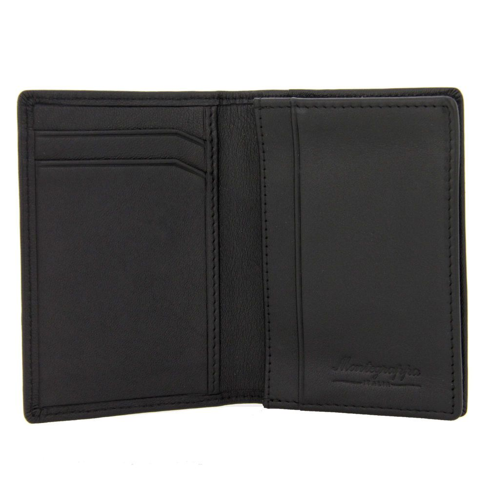 Montegrappa Shiny Leather Business Card Holder Ebay Link Leather Business Card Holder Leather Business Cards Business Card Holders