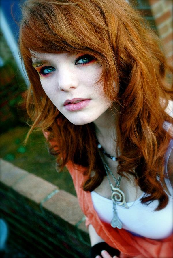 Love this red and the cut would be great for medium to thick hair.