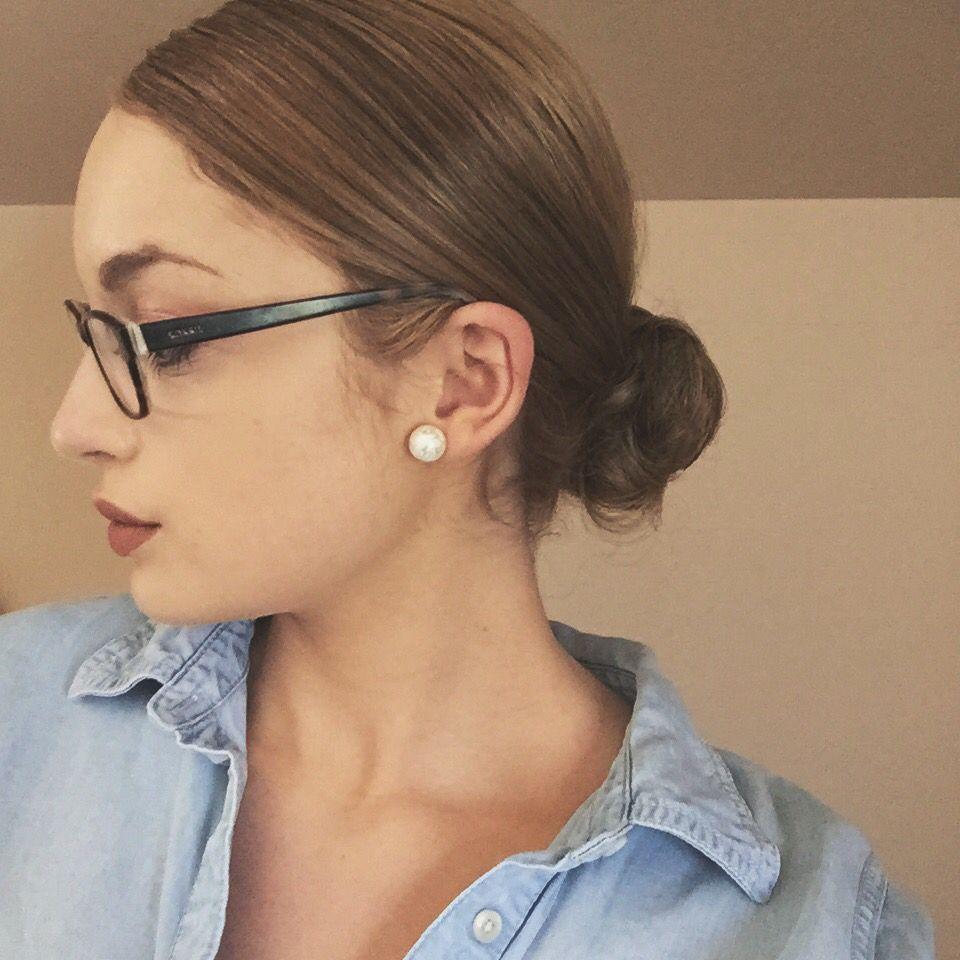 slicked back low bun | hair | hair makeup, long hair styles
