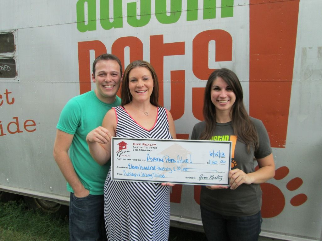 1,120.00 Donated to Austin Pets Alive! on Behalf of