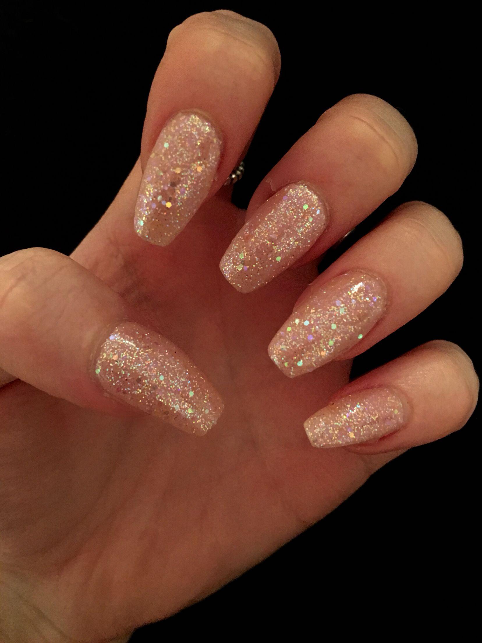 Photo of Iridescent pink sparkle