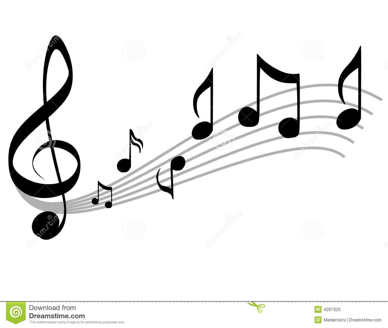- Music Notes Scale And Treble Clipart Panda - Free Clipart Images