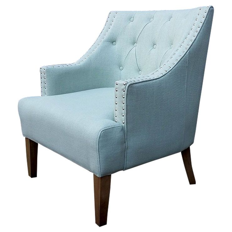 Best Torrei Spa Tufted Chair Blue Occasional Chairs Tufted 400 x 300