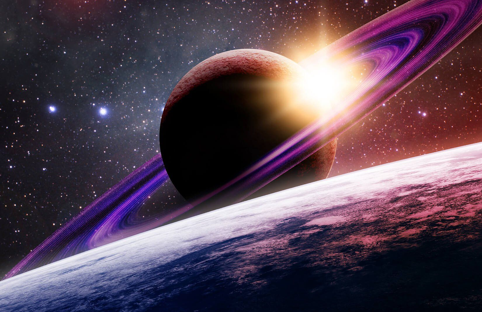 Pin On Jack S Room Outer space earth sunset space planet