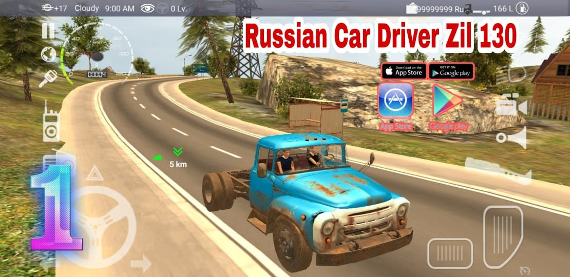 Russian Car Driver Zil 130 Russian Truck Offered Driving Adventure Android Gameplay Fhd In 2021 Car And Driver Truck Games Car