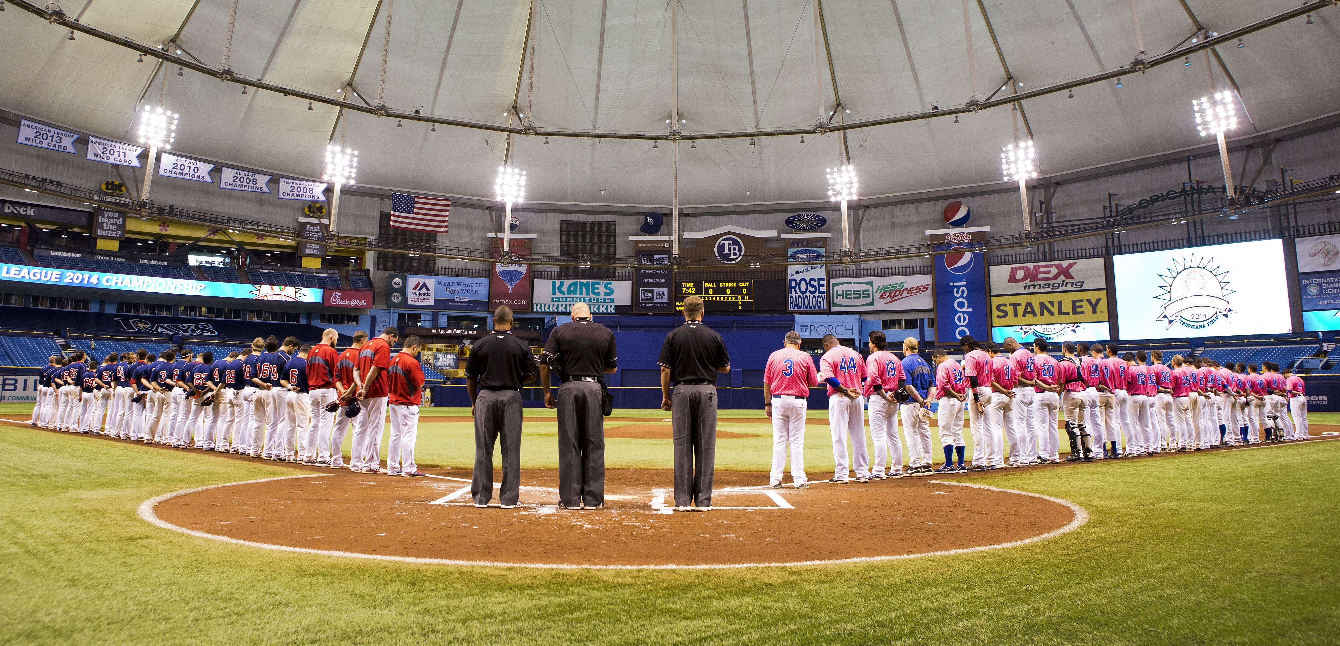 2014 Championship Game Tropicana Field Home Of The Tampa Bay Rays Winter Park 6 Sanford 3 Tampa Bay Rays Championship Game Tampa Bay