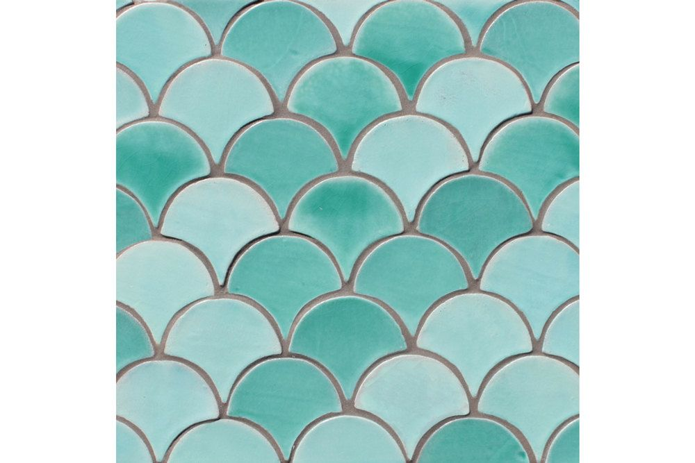 Decorative Tiles Australia Image Result For Green Fish Scale Tiles Australia  Bathroom