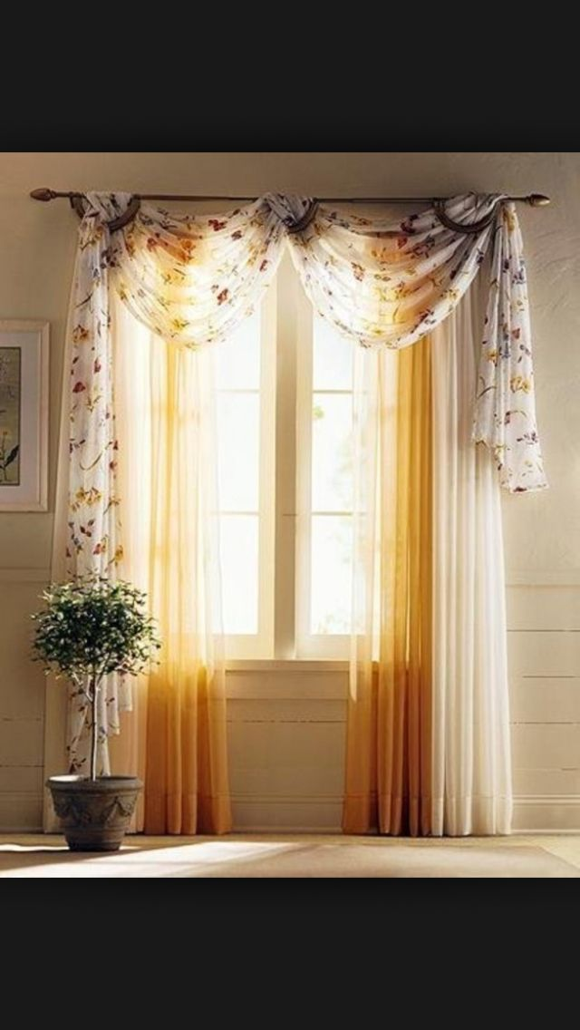 Voile Or Organza For Top Would Fit In The Curtain Idea As