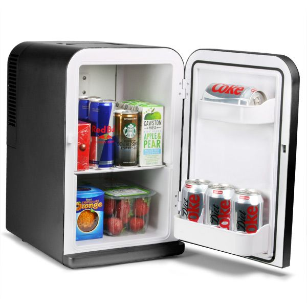 Chillmate Thermoelectric Mini Fridge Cooler And Warmer Black 15 Litre Mini Fridges Beer Cooler Drinks Chiller Fridge Cooler Mini Fridge Cool Mini Fridge