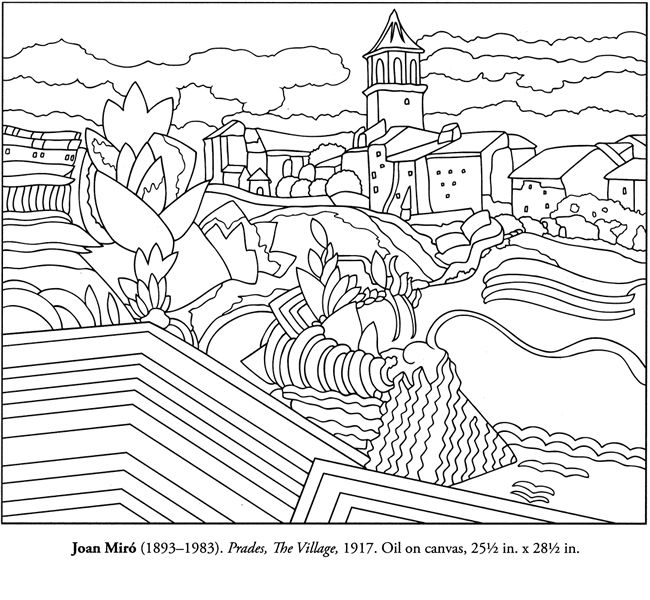 spanish coloring pages for adults | colour your own Spanish master | Adult and Children's ...