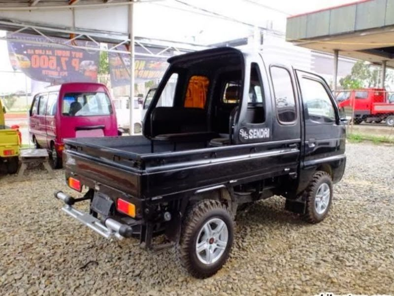 Suzuki Carry Pick Up Modifikasi Off Road