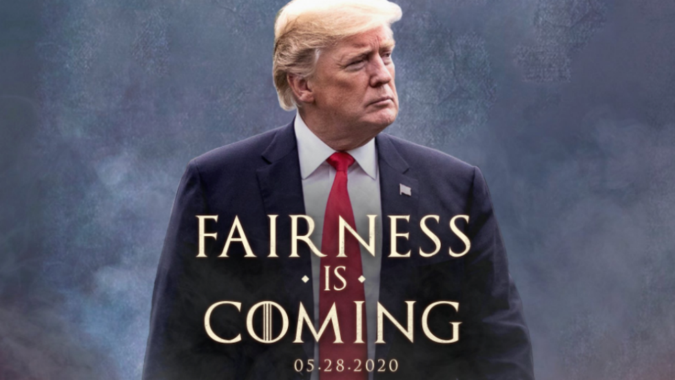 Trump Campaign Resurfaces Game Of Thrones Meme To Knock Twitter Ceo Https Thehill Com Homenews Administration 499914 In 2020 Game Of Thrones Meme Knock Knock Memes