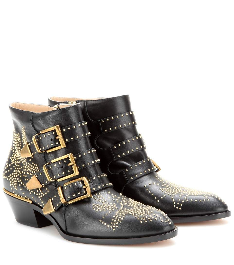 Chloe Susanna Boots   Luxury brands   Boots, Leather ankle boots, Shoes e4b4f7452a9f