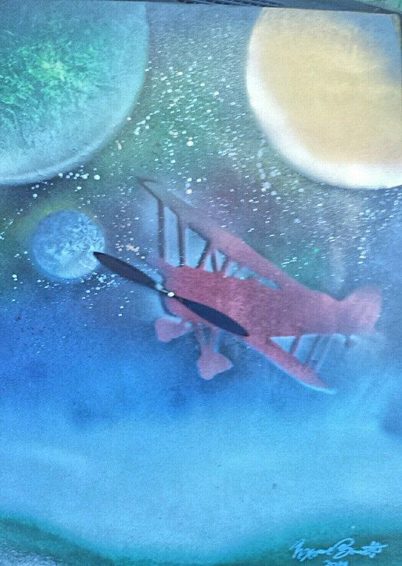 Hey, I found this really awesome Etsy listing at https://www.etsy.com/listing/266669998/escape-of-flight-customized-spray-paint