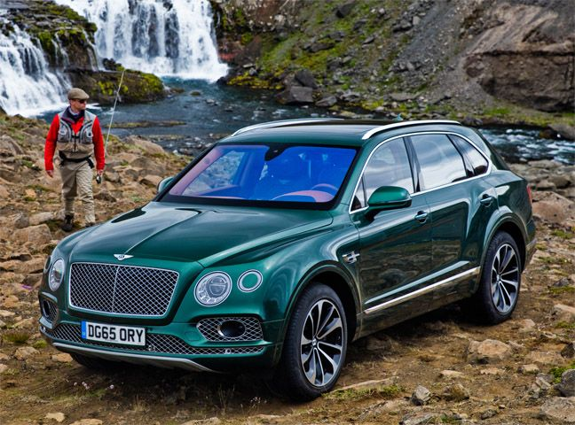 Yea Cause Id Take My Bentley Suv Up A Mountain And Go Camping