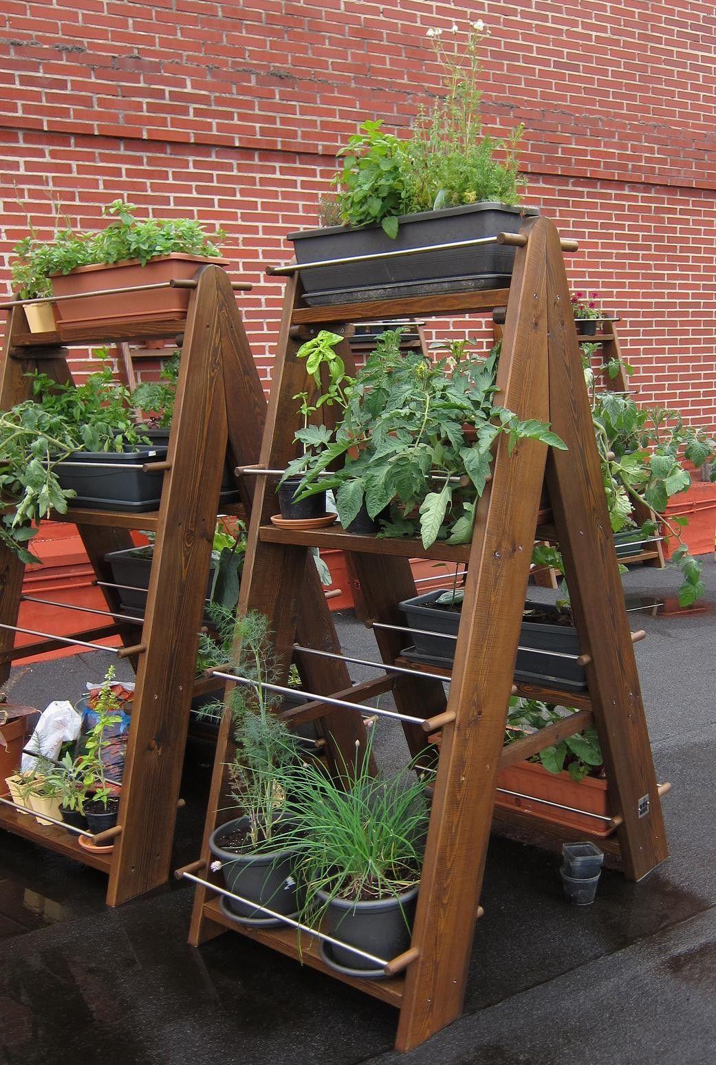 Huertas verticales buscar con google potager au balcon potager jardins verticaux et - Jardin au balcon ...