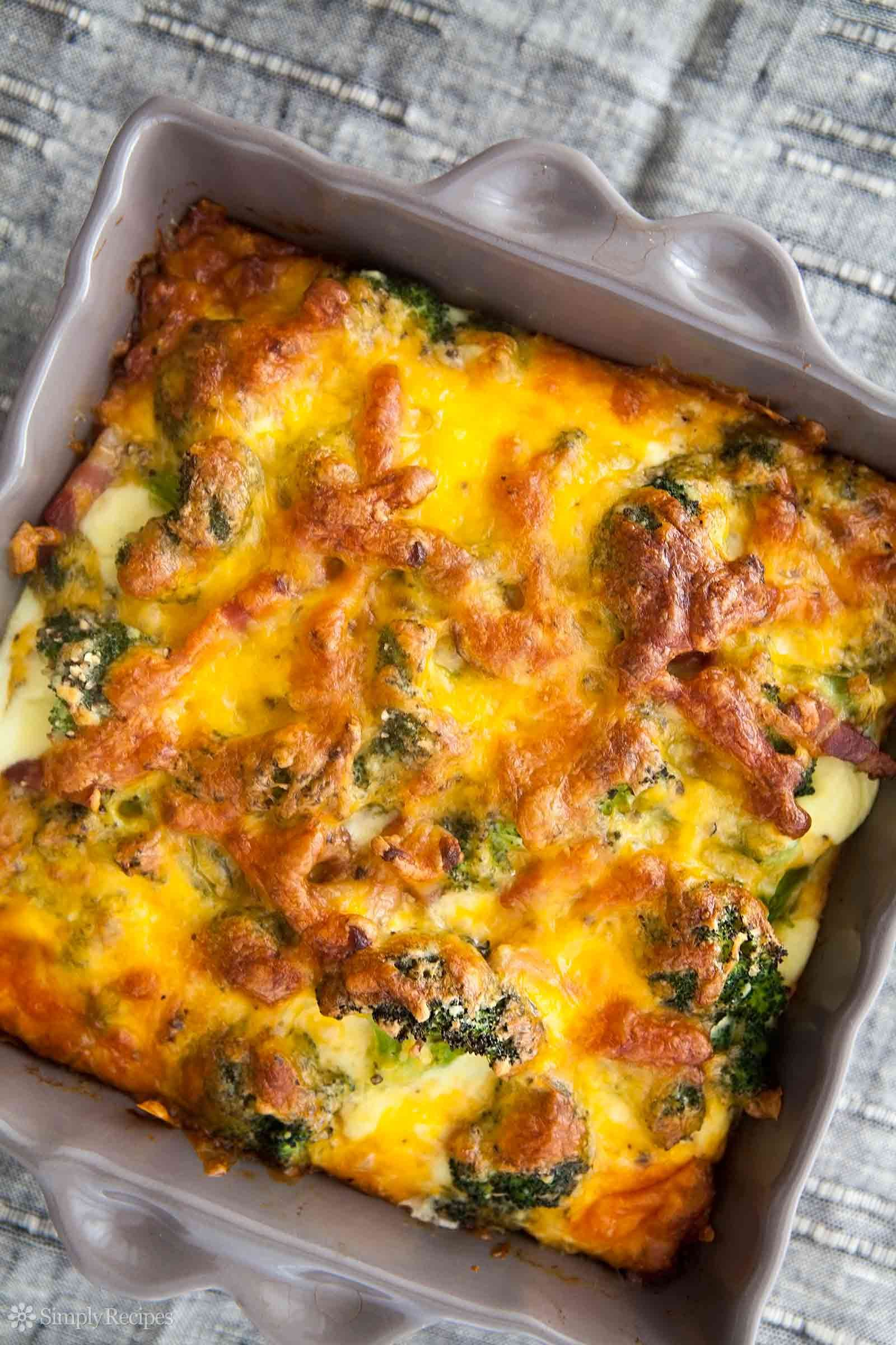 Broccoli Cheddar Casserole from Elise at Simply Recipes