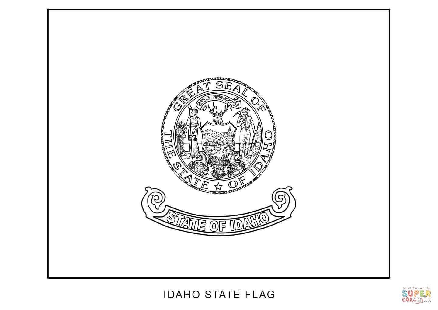 Tennessee State Seal Coloring Pages