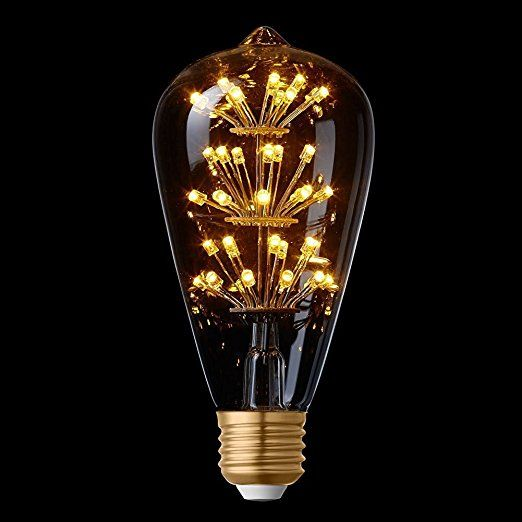 Fabulous Splink Antik LED Edison Gl hbirne Vintage Stern Dekorative Lampe W E V