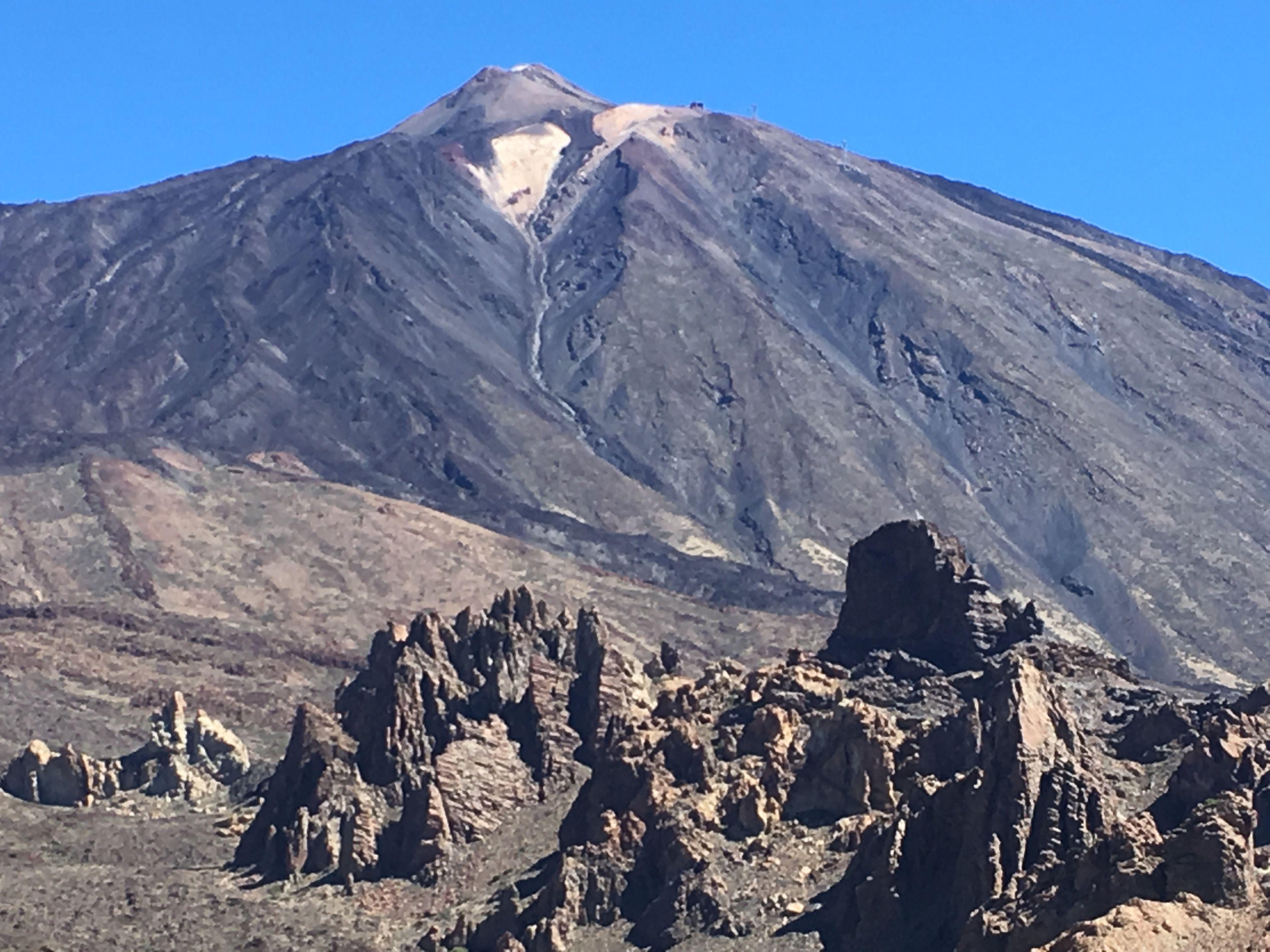 Volcano Teide Tenerife Natural Landmarks Landmarks