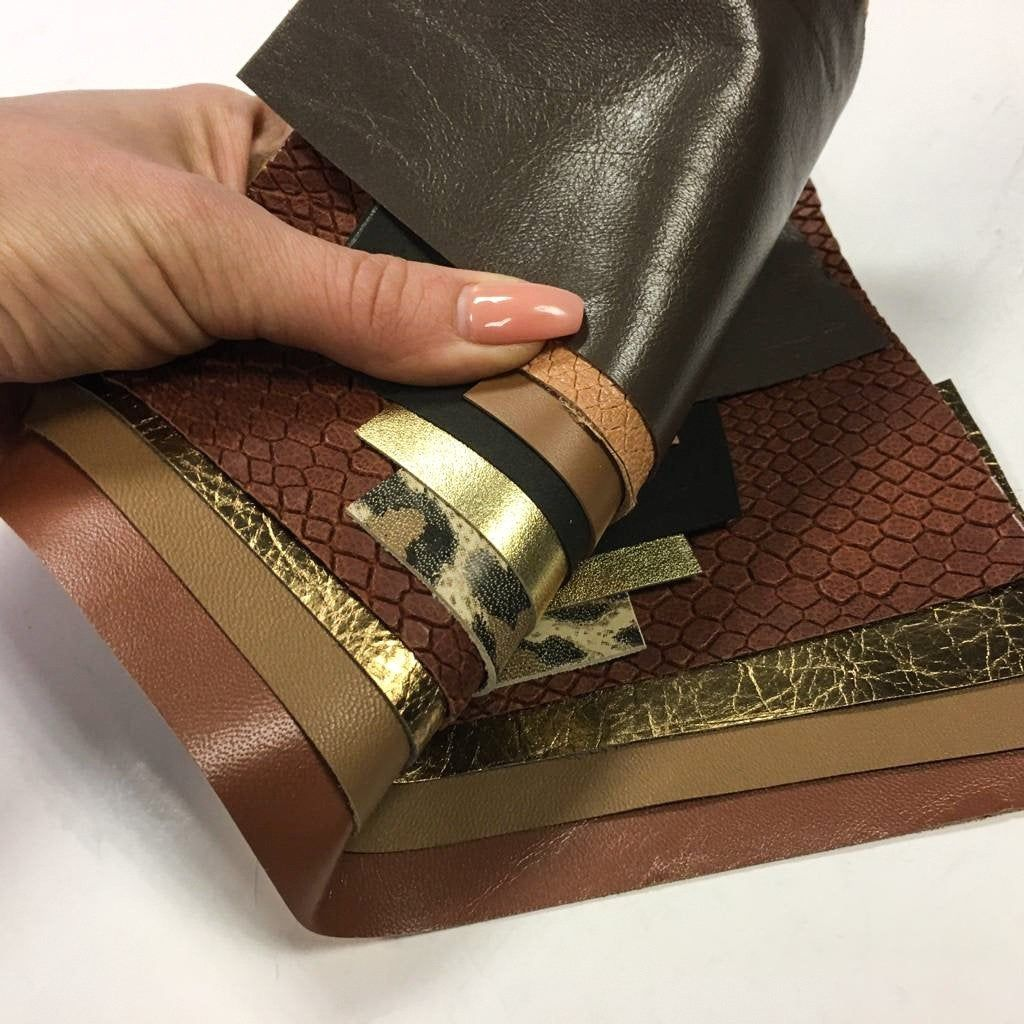 Weaver Leather Leather Remnant Bag