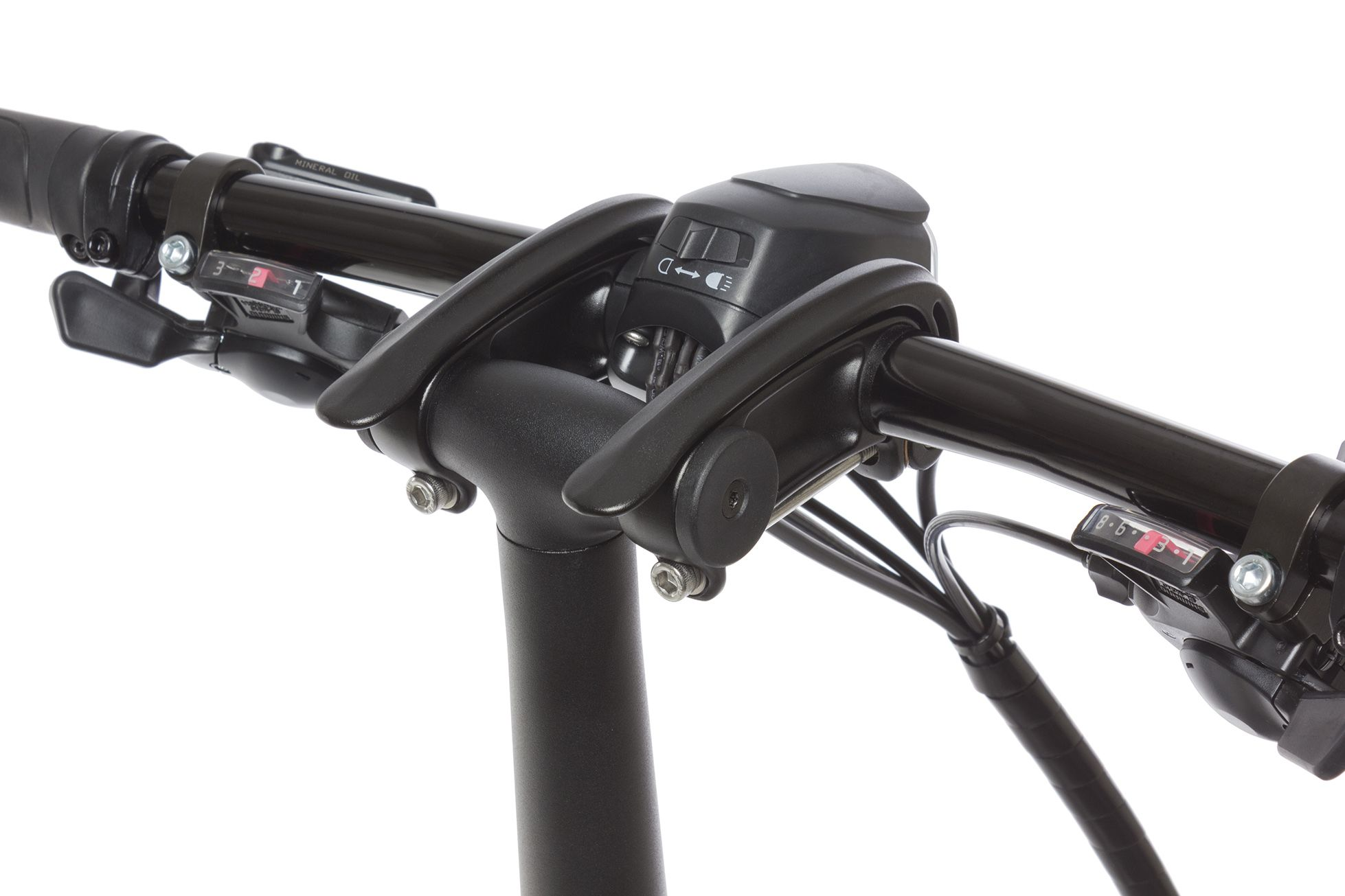 The Tern Andros Handlebar Stem Lets You Adjust The Height And