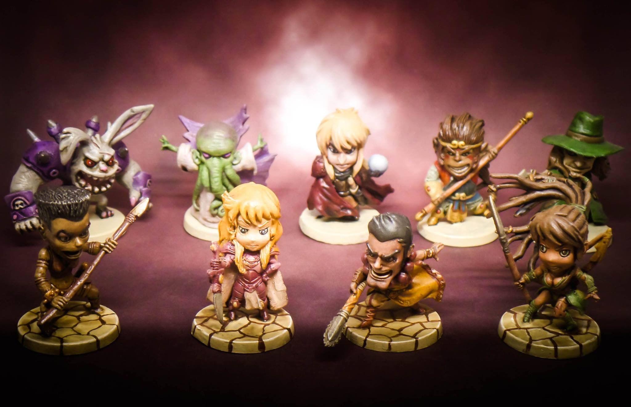 Figurines Arcadia Quest
