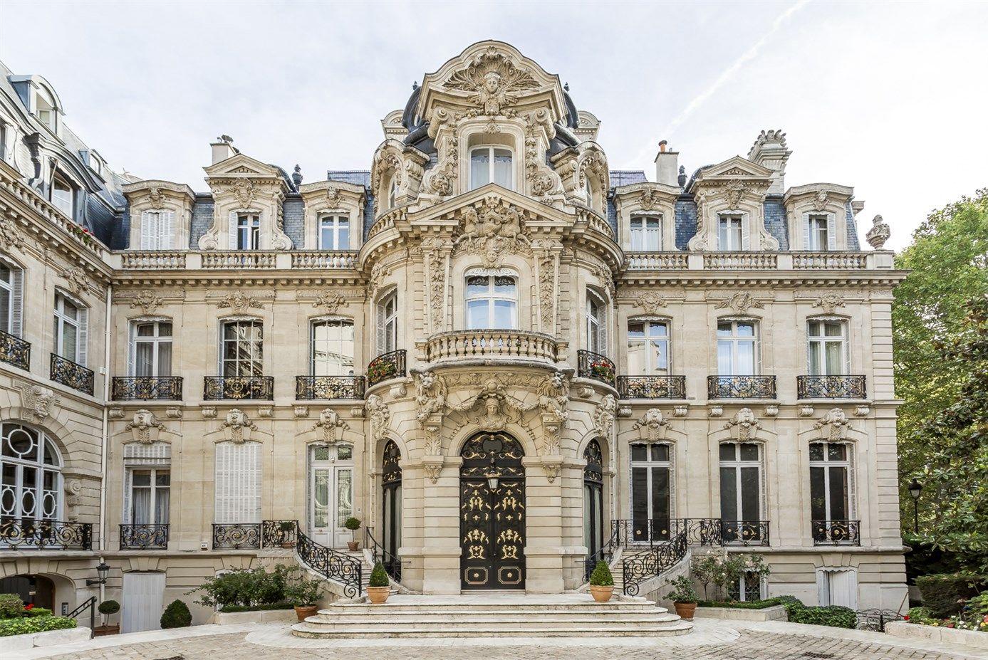 Hôtel Menier, 5 rue Van-Dyck mansion built in 1872-1874 in ...