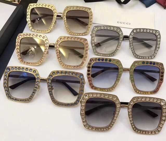 07973cd5e9048 Gucci Inspired Oversize Square Frame Metal Sunglasses are HERE. (GG011 –  Celebrity Inspiracion