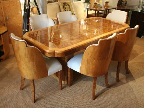 Room Epstein Art Deco Dining Table