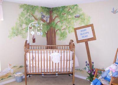 Peter Rabbit Nursery Murals Decor Ideas Mural Wall