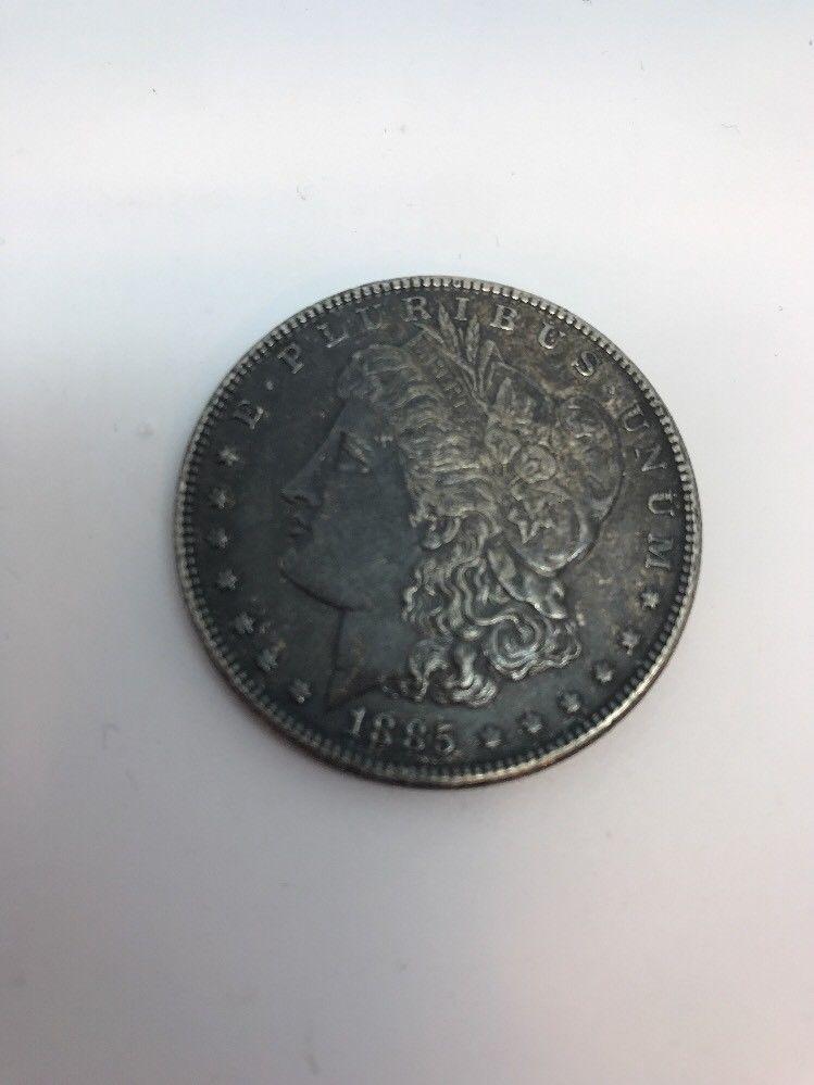 1885 1 Morgan Silver Dollar Philadelphia Ebay Morgan Silver