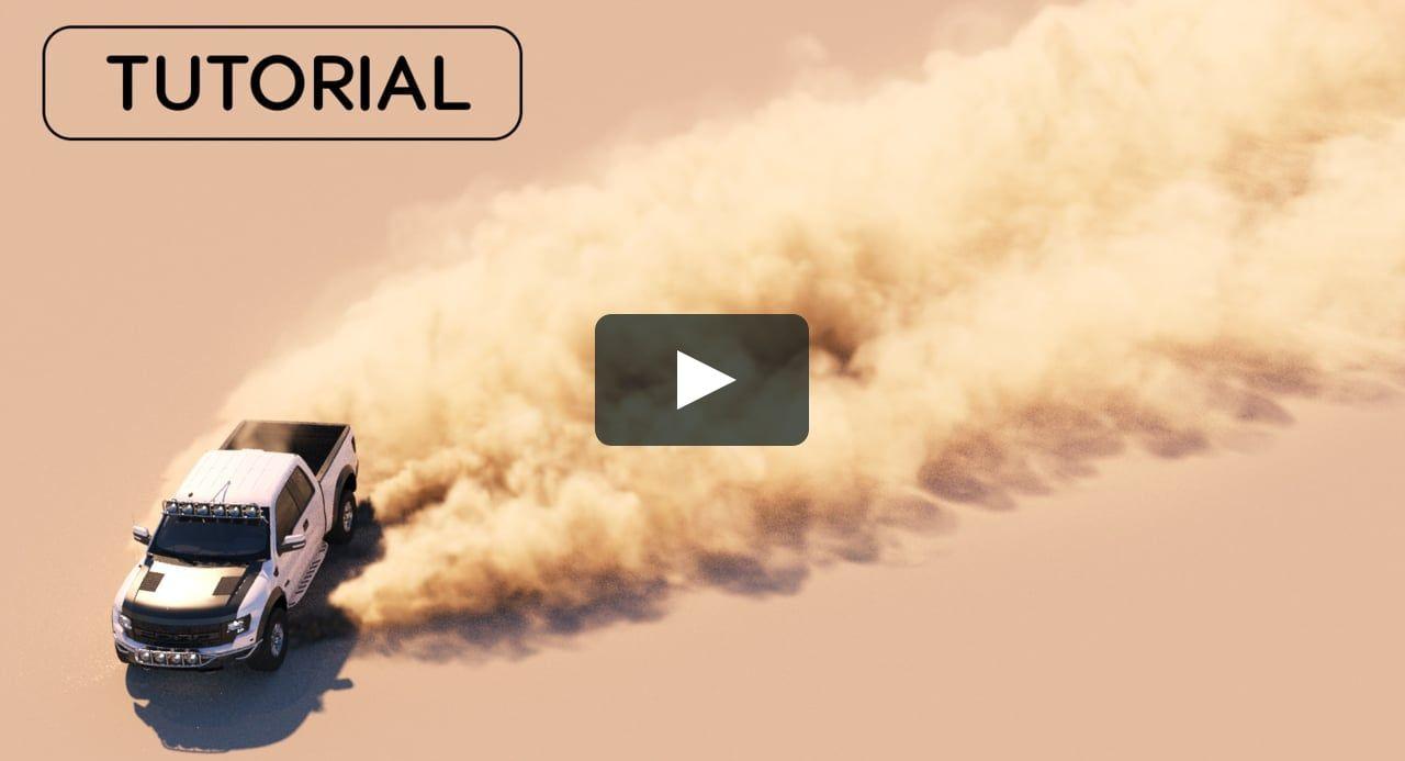 3ds max creating dust and fine debris using phoenix fd tutorial.
