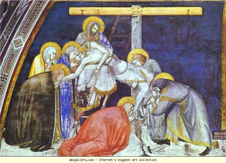 Pietro Lorenzetti The Deposition Canvas Painting Painting