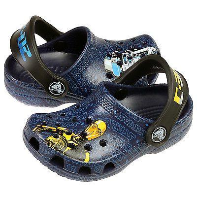 20215a74edcd Crocs Classic Star Wars Toddler 200122-422 R2-D2 C3P0 Clogs Baby Shoes Size  6 7