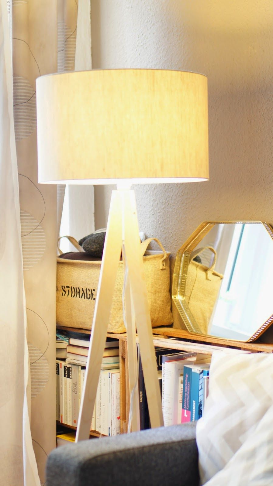 Interior New Scandinavian Tripod Lamp By Westwing Tripod Lampe Inneneinrichtung Interieur