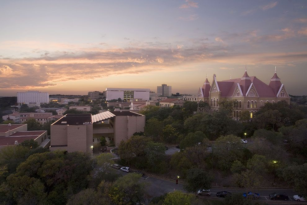 About Texas state university, College years, Alma mater