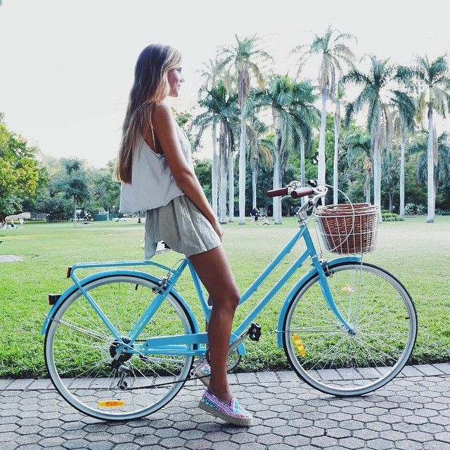 Bohemian Chic With Images Old Fashioned Bike Bike Style