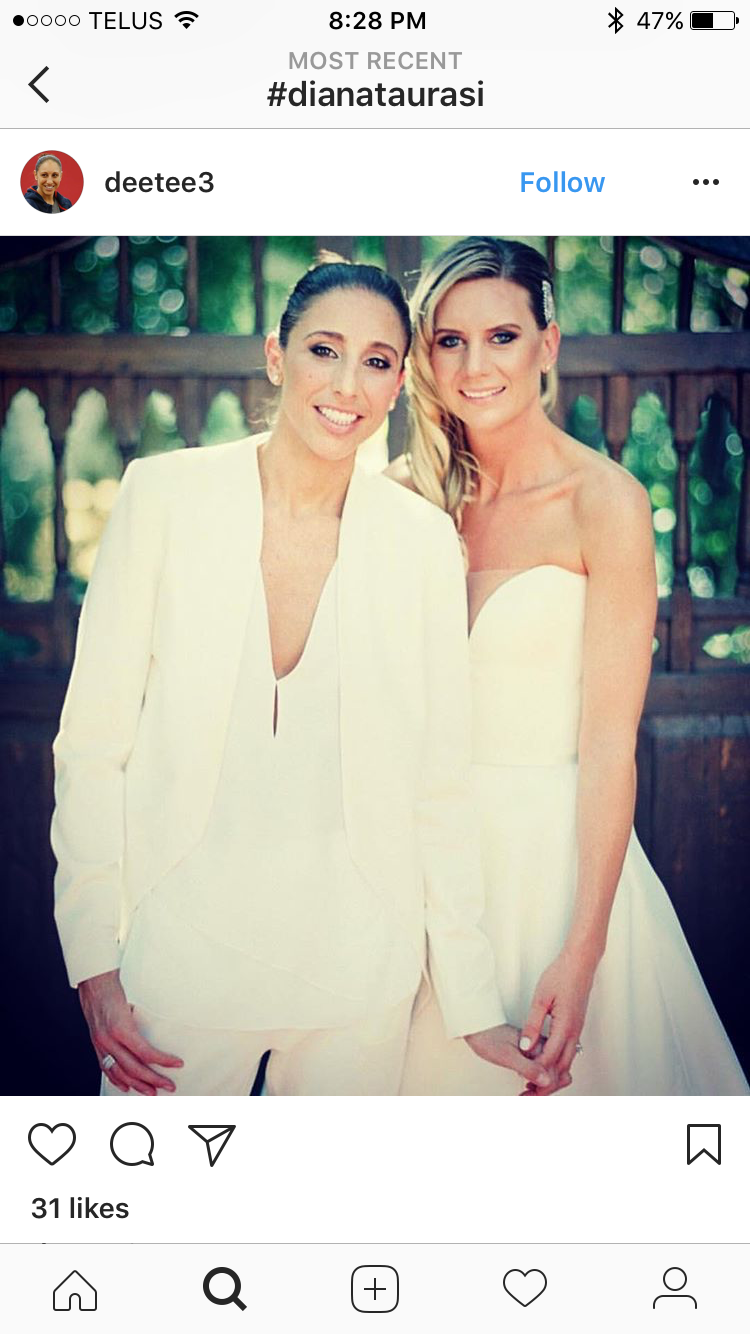 Diana Taurasi Wedding.Diana Taurasi Penny Taylor S Wedding Photo Those