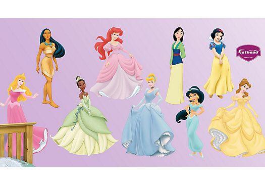 Shop for a Disney Princess Collection Fathead Wall Decal ...