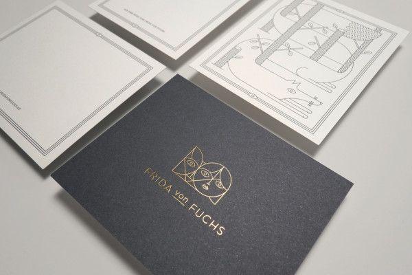 Frida von Fuchs Corporate Design #design