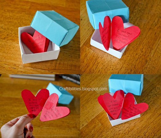 Craftibilities: SWEET homemade gifts! - Personal post that melts my heart