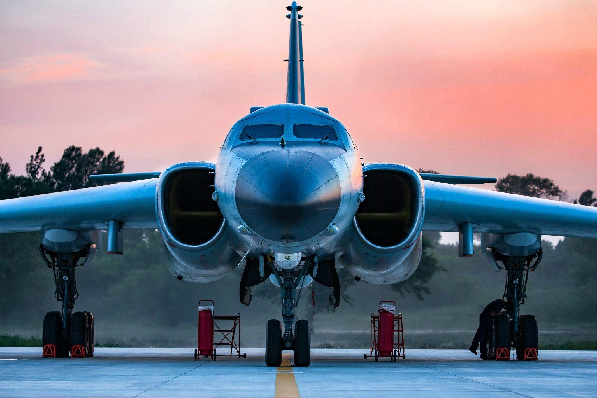 Xian H6K China Air Force Avião militar, Militares, Aviao