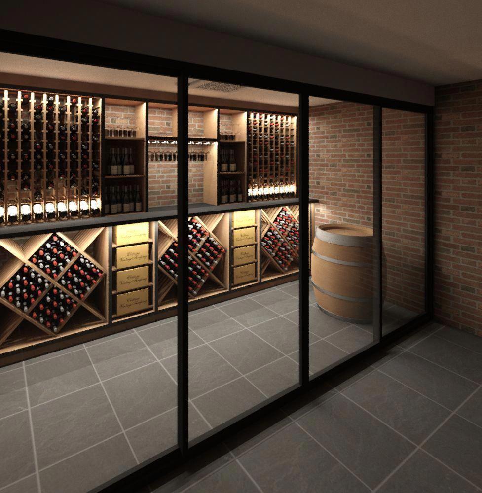 #WineStorage #winefridge | Aménagement cave à vin, Cave à vin moderne, Cave à vin